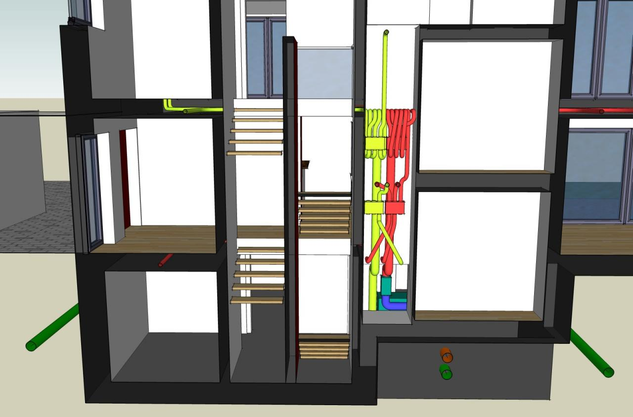 passivenergiehaus l ftungsanlage. Black Bedroom Furniture Sets. Home Design Ideas