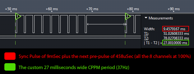 Alternative FrSky firmware with 27ms CPPM timing